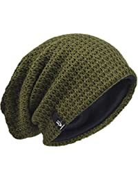 a53f810a570 Men Oversize Beanie Slouch Skull Knit Large Baggy Cap Ski Hat B08