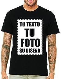 VILLAGESTORE Camiseta Personalizadas Delantera Unisex Long Fit 100% Algodón  (VERIFIQUE SU TAMAÑO DE LA e68473a9d66