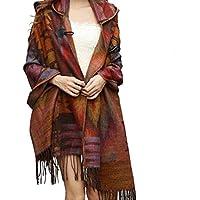 Donne Lady Vintage mantello incappucciato del Capo