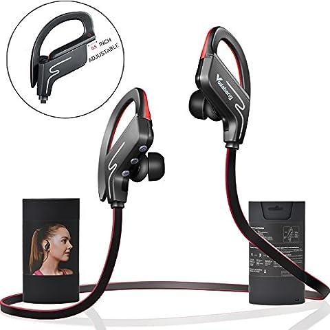 Bluetooth Kopfhörer Vodabang IPX4 Sweatproof drahtlos Sport Ohrhörer mit MIC