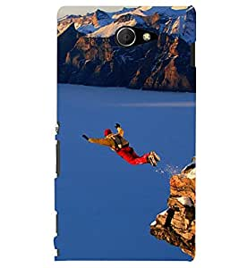 PRINTSHOPPII NATURE SPORTS Back Case Cover for Sony Xperia M2 Dual D2302::Sony Xperia M2