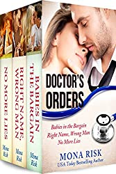 Doctor's Orders Box Set (Babies in the Bargain, Right Name, Wrong Man, No More Lies) (English Edition)