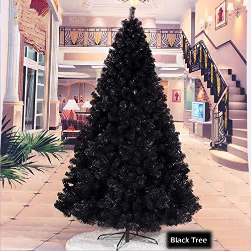FLORICA ONLINE Árbol de Navidad Artificial de Color Negro con árbol de Navidad (180 cm, 700 Puntas)