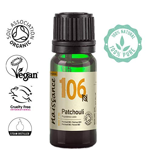 Naissance Patchouli 10ml BIO zertifiziert 100% naturreines ätherisches Öl -