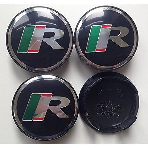 Jaguar r rendimiento, R tipo centro gorras Hub Cover insignias emblema 4pcs. X 59mm