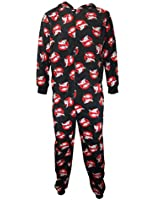 Ghostbusters Onesie, Mens Movie Logo Lounge Pyjama