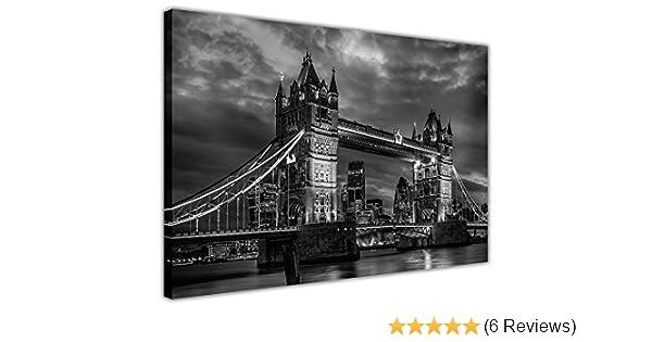 A0 A1 A2 A3 A4 London Bridge Black /& White Large Poster Wall Art Print