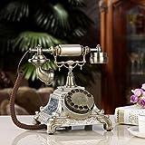 Europäischen Antike Vintage Telefon Wählscheibe Telefon Mode Home Office alten Festnetzanschluss