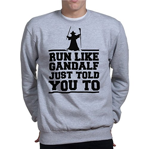 Run Like Gandalf Told You Fitness Running Pullover