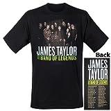 Photo de James Taylor - T-Shirt Bands of Legends (in S) par James Taylor