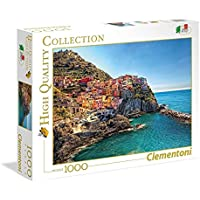 Clementoni – High Quality Collection – Puzzle Manarola, 1000 unidades, 39452