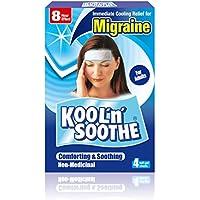 Kool 'n' Soothe Migraine Cooling Strips - 4 Strips preisvergleich bei billige-tabletten.eu