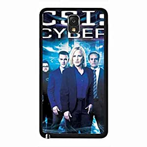 CSI Cyber Samsung Galaxy Note 3 Case, CSI: Cyber Logo Phone Shell Back Cover,Pc Hard Shell Skin Cover Case D1I3JL