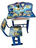 #7: IRIS Minion Kids Table and Chair Study Set