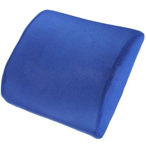 Alta Resilient New memoria rimbalzo lento sedia lombare mal di schiena lombare di sostegno del (Giorno Chair Pad)