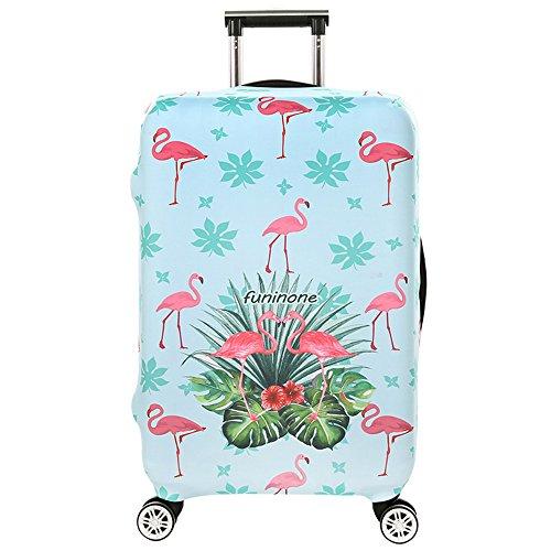 Cover Proteggi Copertura per valigie 18-32 pollici Coperchio per bagagli in fibra di bambù, fibra di carbonio (Color 4, S)