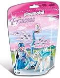 Playmobil 5354 - Winterkönigin mit Pegasusbaby - Schneeflocke
