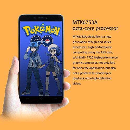 """CUBOT Max - Smartphone Libre 4G Android 6.0, (Pantalla táctil 6.0"""" HD, 4100mAh batería, 3GB Ram + 32GB ROM, Octa core, Dual SIM, Cámara 13Mp, 1.3 GHz), color Negro[ CUBOT OFICIAL ]"""