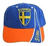 Flaggenfritze Cap/Kappe Schweden, fan