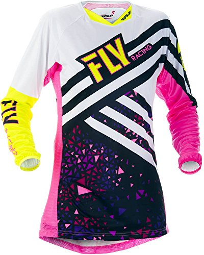Fly Racing Girls Jersey Kinetic Pink Gr. L (Girls Fox Rennen)