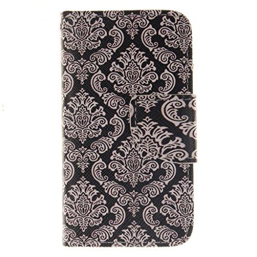 Nutbro [iPhone 4S] iPhone 4S Leather, iPhone 4S Leather Wallet Case, iPhone 4 Case,iPhone 4 Cases,Flip Wallet Leather Case Cover for iPhone 4S ZZ-iPhone-4S-42