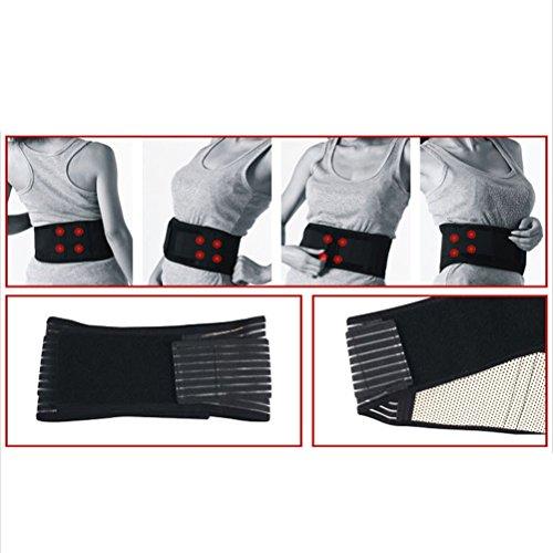 Tinksky-Faja-trmica-para-zona-lumbar-porttil-elstica-ajustable-terapia-magntica-soporte-lumbar-correa-doble-masajeador-talla-M-negro