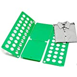 New Akira 59*70* 0.2cm Eco-friendly ABS Clothes Folding Stacked Board Plate(Green)