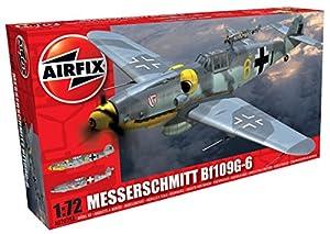 Airfix - Messerschmitt Bf109G-6, Juguete de aeromodelismo (Hornby A02029A)
