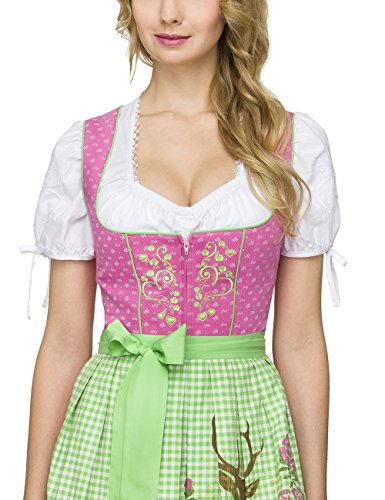 Stockerpoint Ronja, Dirndl Femme Rosa (Pink)