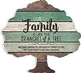 Dana34Malory Our Family ist Wie die Zweige auf Einem Baum 12x 13Baum Form Deko Wand Holz Palette Design Schild