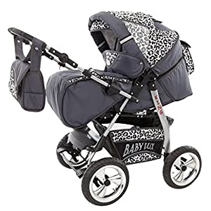 Lux4 children's pushchair set, carry cot, sports seat, changing bag, mattress, pushchair, mega set of accessories, over 400 options, 3-in-1 or 2-in-1, set made in EU, iCaddy Sunzit 【Ergonomic Design】: The auxiliary spine micro-C structure and leg opening design, natural M-type sitting.Thickening sponge soft filling, effectively relieve Mommy abdominal force. We add anti-wear pads in the armpit and thighs to protect the baby's skin. 【Double Safety】: Double-protection design, hook & loop fastener accompanied with waistband buckle, provides safer and more stable waist support; The baby carrier allows adjustment of waist support for comfort to alleviate pressure on shoulders 【MATERIAL】: The baby carrier is made of 100% skin-friendly cotton fabric, the baby carrier would cradle your baby comfortably; Unique comfort pad prevents back pains from squeeze of back buckle; Anti-scratch edges, designed with cotton fabric, help avoid injuries to baby's legs from scratches 9