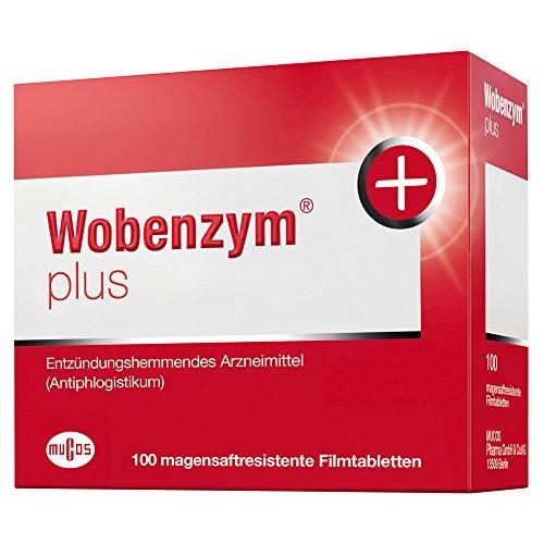 Preisvergleich Produktbild Wobenzym plus Tabletten, 100 St.