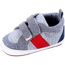 Primeros pasos para Bebé niño, Amlaiworld Zapatos de bebé niño recién nacido de cuna zapatillas 0-18 Mes