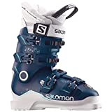 Salomon X MAX 90Chaussures de ski pour femme, femme, Petrol Blue/White/Light Green