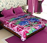 Story@Home Candy Warm and Soft Comfortable Polyester Double Bed Blanket - Maroon best price on Amazon @ Rs. 399