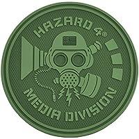 Hazard 4 Rubber Patch Media Division Oliv, Oliv preisvergleich bei billige-tabletten.eu