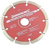 Silverline 633624 Stein- und Beton-Diamanttrennscheibe 125 x 22