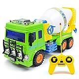 RC Mischer Bruder Bau Kinder Spielzeug Zement LKW Limited Edition Mit Licht 4CH Kanäle Grün Geschenk Für Alter 3 4 5 6 7 8 Jahre Alt Kinder Junge