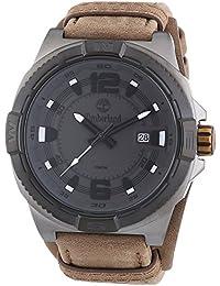 Timberland - TBL.14112JSUB-61 - Penacook - Montre Homme - Quartz Analogique - Cadran Gris - Bracelet Cuir Marron
