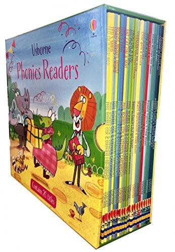 Usborne Phonics Readers 20 Books Collection Box Set