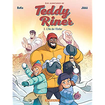 Les Aventures de Teddy Riner - tome 3 - L'Île de l'Enfer