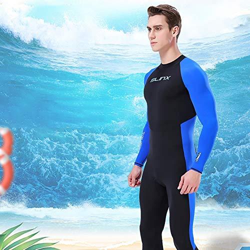 Forart Männer Frauen Vollanzüge Thermoanzug Ärmel Jugend Erwachsener Tauchen Schwimmen Schnorcheln Surfen Tauchanzug Warme Badebekleidung