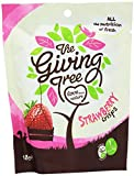 Giving Tree Freeze Dried Strawberry Crisps 18 g (Pack of 12)