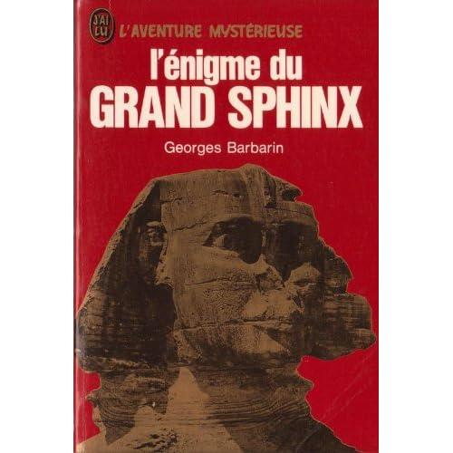 L'egnigme du grand sphinx