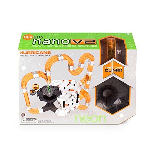 Hexbug 501724 - Nano V2 Hurricane, Neon, Elektronisches Spielzeug