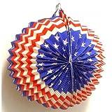 KFD39195 Ballonlaterne / Lampion: USA 24cm