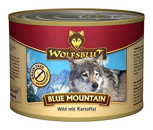 Wolfsblut - Blue Mountain Wild+Kartoffel, 6x200g