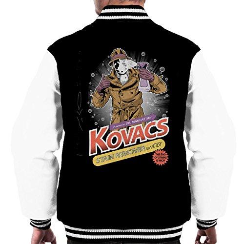 (Watchmen Rorschach Kovacs Stain Remover Men's Varsity Jacket)