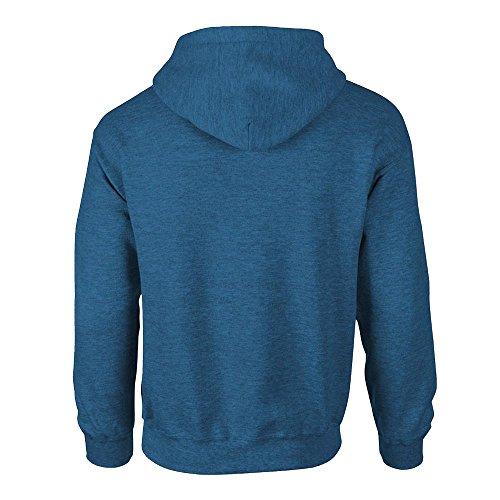 Gildan Heavy Blend Kapuzen-Sweatshirt 18500 Antique Sapphire