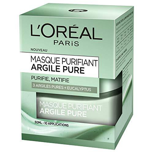 L'Oréal Paris - Masque Purifiant Pour Le Visage - Argile...